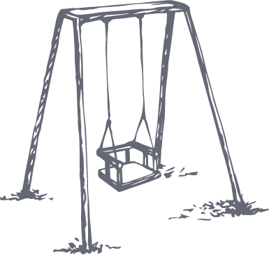family giving swings