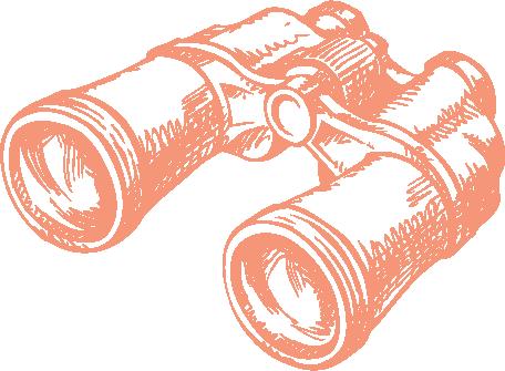 binoculars areas of exploration