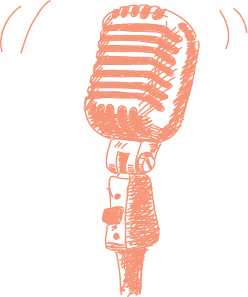 microphone first-person storytelling